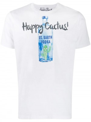 T-shirt MC2 SAINT BARTH Vodka cactus