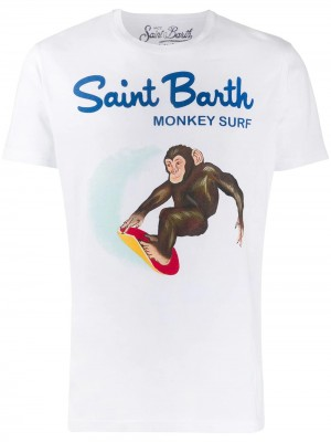 T-shirt MC2 SAINT BARTH Monkey surf