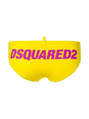 Slip DSQUARED2 Yellow