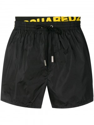 Boxer DSQUARED2 Black yellow