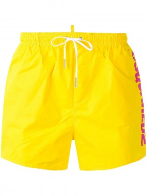 Boxer DSQUARED2 Yellow
