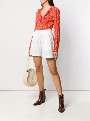 Anglaise Broderie Shorts | Di Pierro Brand Store