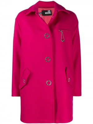 Cappotto LOVE MOSCHINO Fuxia
