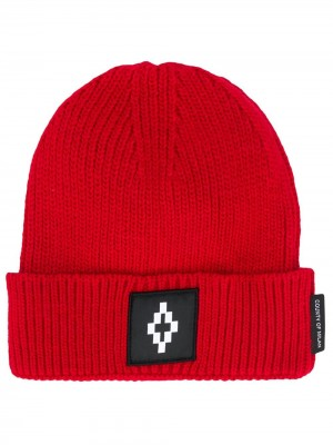 Cappello MARCELO BURLON COUNTY OF MILAN Rosso