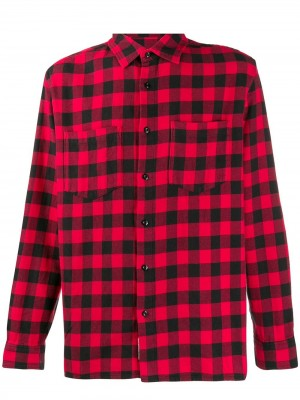 Camicia WOOLRICH Rosso