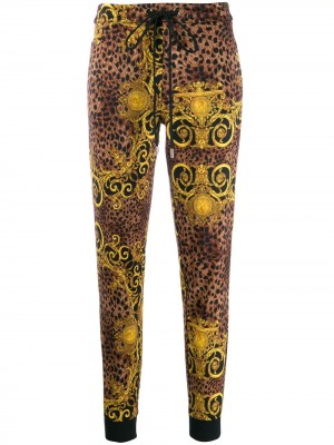 Pantalone VERSACE JEANS COUTURE Gold