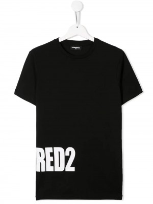T-shirt DSQUARED2 KID Nero