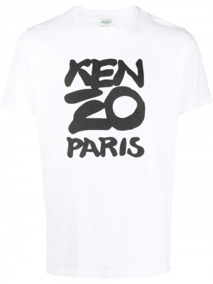 Paint Brush Paris Logo T-shirt