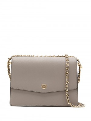 Borsa TORY BURCH Gray heron