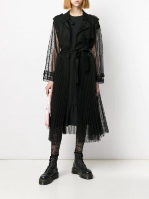 Trench RED VALENTINO Nero