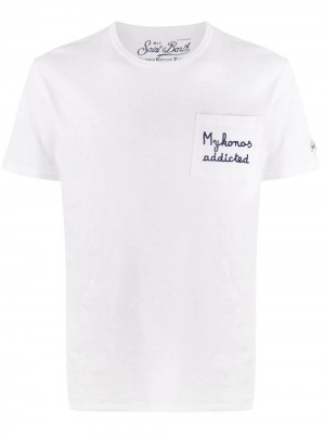 T-shirt MC2 SAINT BARTH Emb mykonos