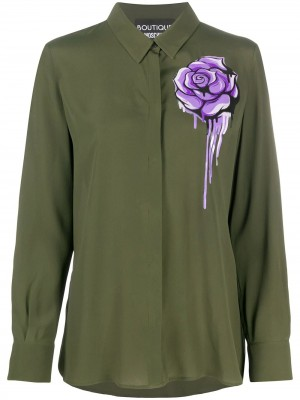 Blusa BOUTIQUE MOSCHINO Verde DONNA BOUTIQUE MOSCHINO 1440 - Verde