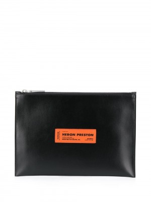 Pochette HERON PRESTON Black UOMO HERON PRESTON 1010 - Black