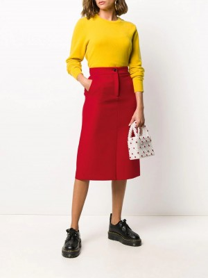 Gonna MSGM Red DONNA MSGM 18 - Red