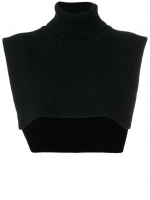 Federica Tosi Ribbed Crop Top - Knitwear