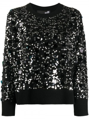 Top LOVE MOSCHINO Nero