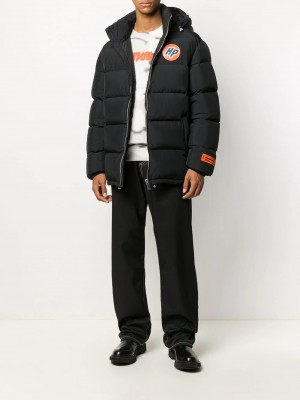 Giubbotto HERON PRESTON Black orange