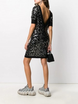 All Over Sequins Dress | Di Pierro Brand Store